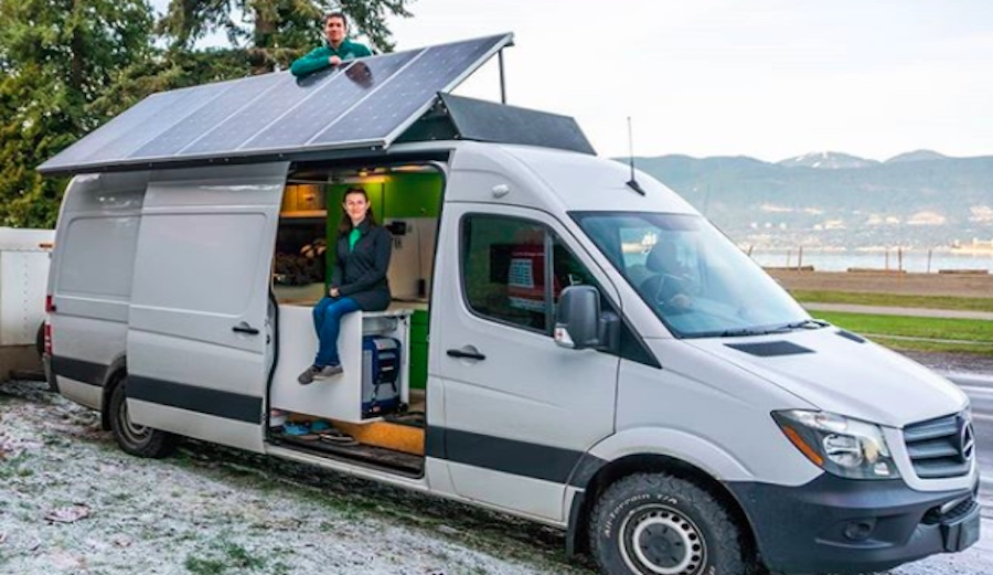 Check Out the Solar Power Setup on This Slick Home on the Road