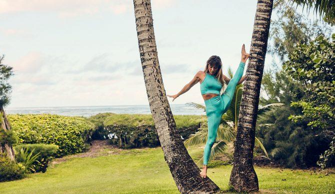 Tia Blanco yoga Hawaii