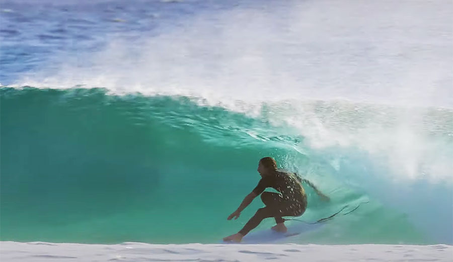 Asher Pacey's Twin Fin Antics at Snapper Rocks Are Next-Level Good