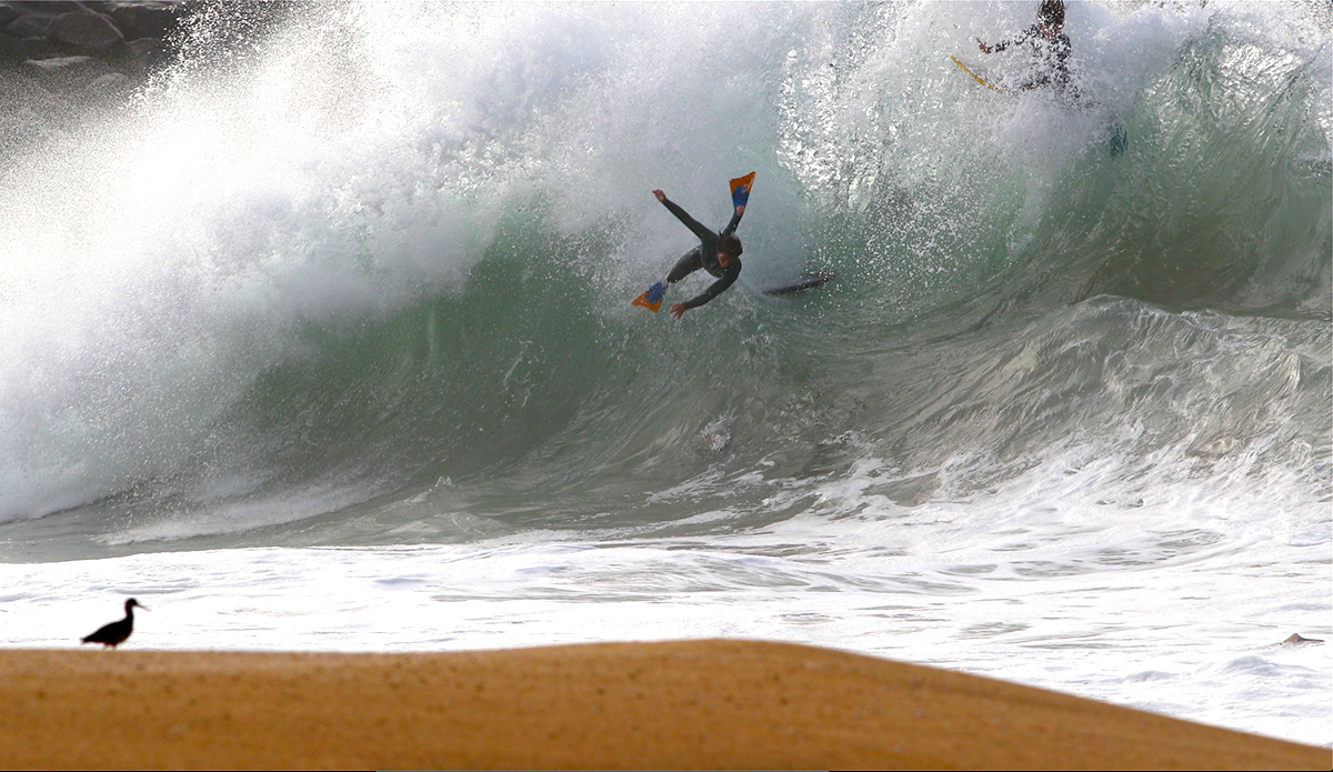 One Virtually Unrideable (But Entertaining) Morning at the Wedge