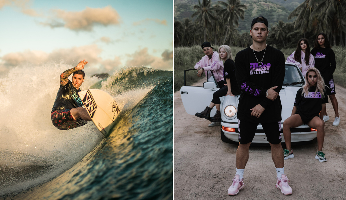Kekoa Cazimero Is Blazing Surfing's Future Trail for Athlete-Entrepreneurs