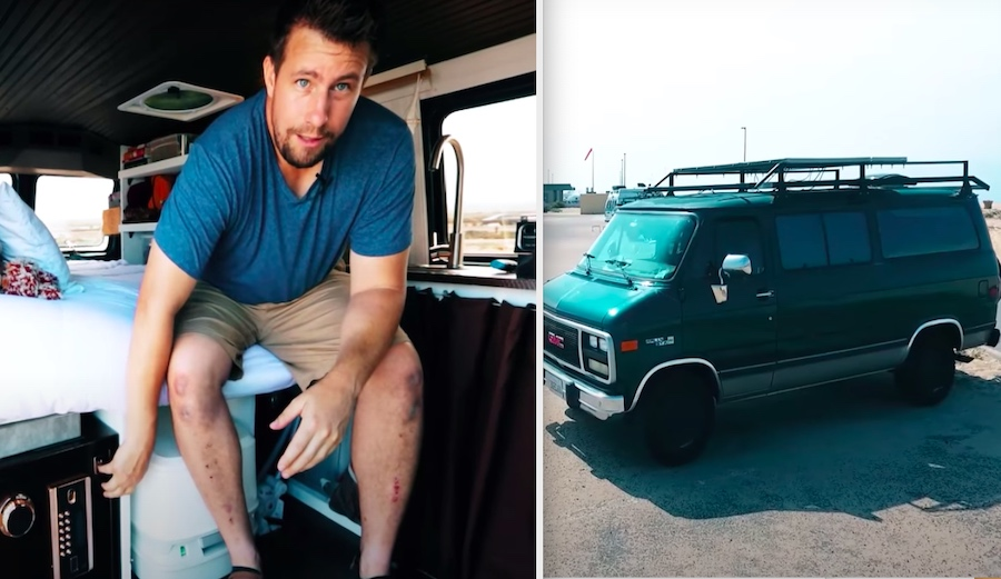 This Guy Rebuilt His Home on Wheels for Under $6K and Calls it 'The Creeper'