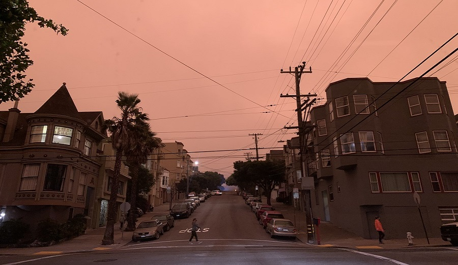 I'm Living Through the Apocalyptic Vibes on the U.S. West Coast