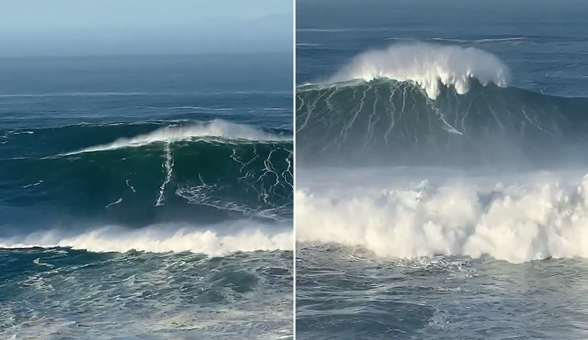 Watch: Andrew Cotton and Lucas Chumbo May Have Just Surfed the Two Biggest Waves Ever
