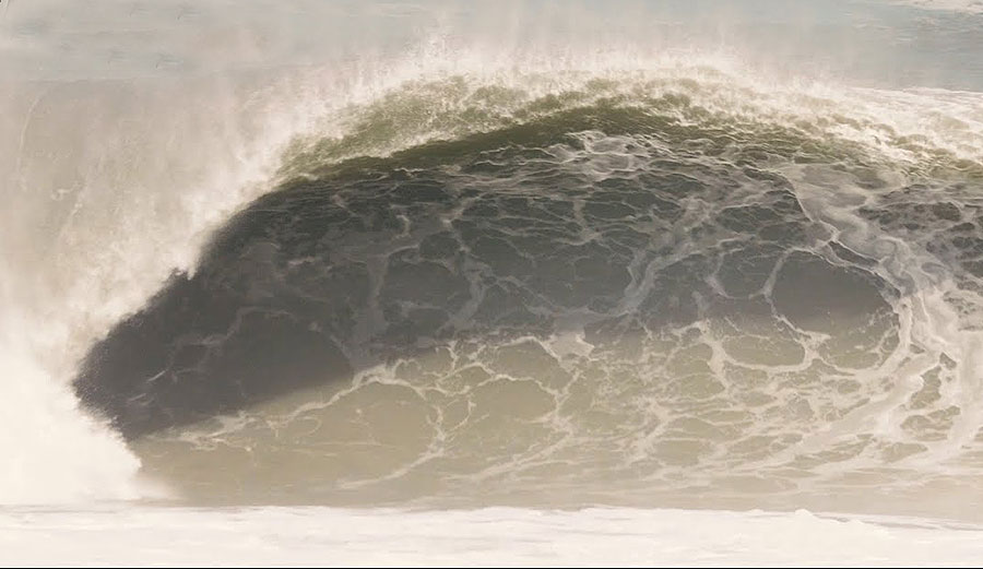 Koa Rothman Chased Down a Pumping Hurricane Swell In the Outer Banks