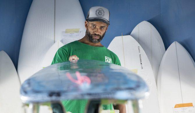 Ryan Harris Earth Technologies Eco Surfboard Shaper