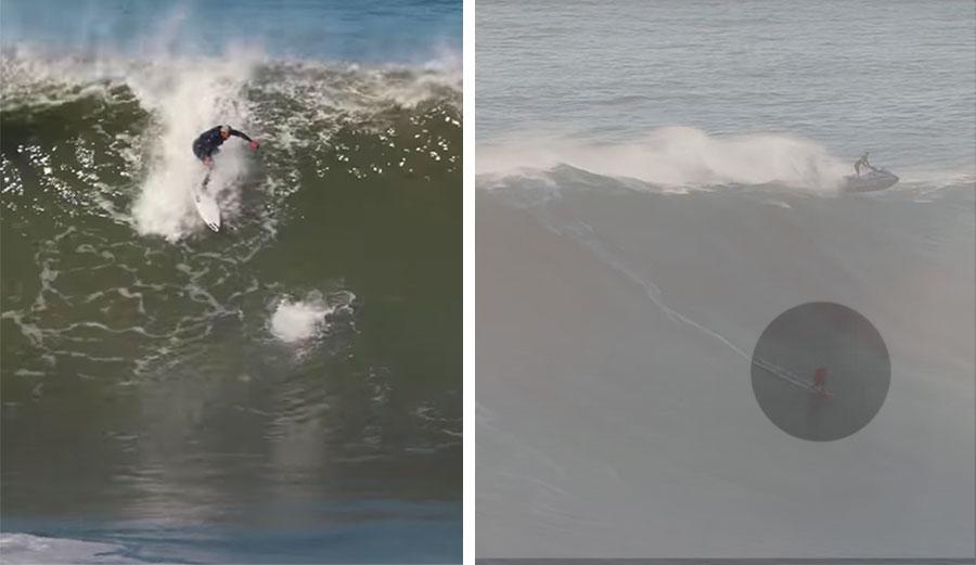 Italo Ferreira Surfs Bombing Portugal During Hurricane Epsilon