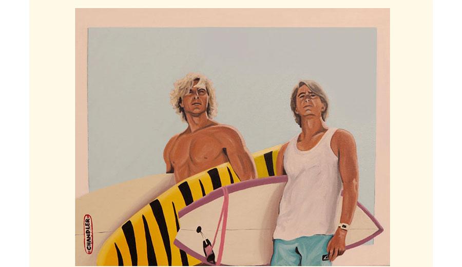 Derek West Welcome to Pipeline art