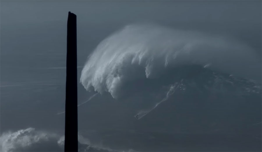 This Could Be the Most In-Depth Look at What Happened at Nazaré During the Century Swell