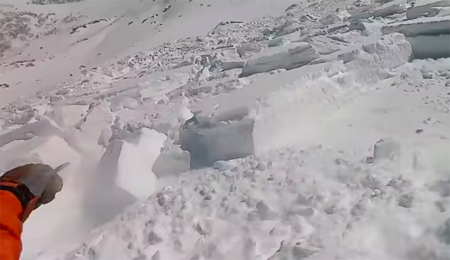 Massive Slide on Colorado's Loveland Pass Catches Snowboarder, Carrying Him 1,000 Feet