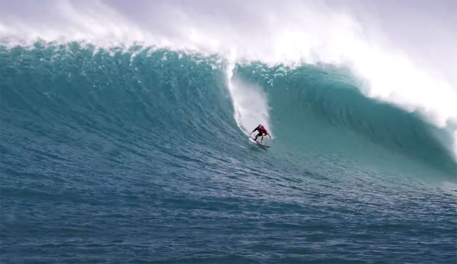 Jamie O'Brien Towed Ben Gravy Into the Biggest Wave of His Life