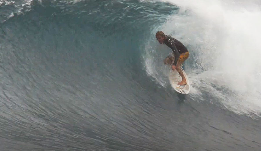 Here's a Cruisy Little Jack Coleman Jam Starring the Inimitable Gavin Beschen on the North Shore
