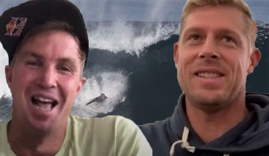 Mick Fanning and Jamie O'Brien Discuss Whether Wave Pools Will Replace the Ocean for Surfers