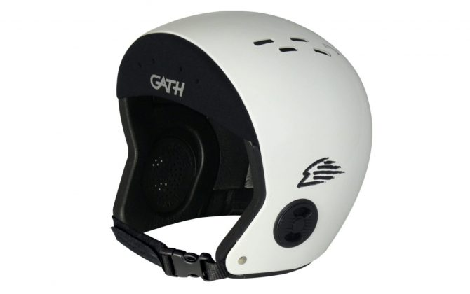 Gath helmets are the leading brand in surfing