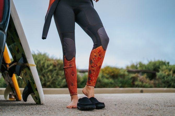 lems shoes wetsuit change