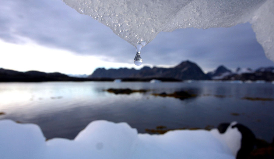 Climate changing water droplet