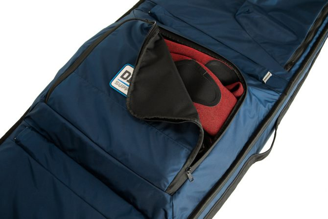 the dirtbag wetsuit compartment