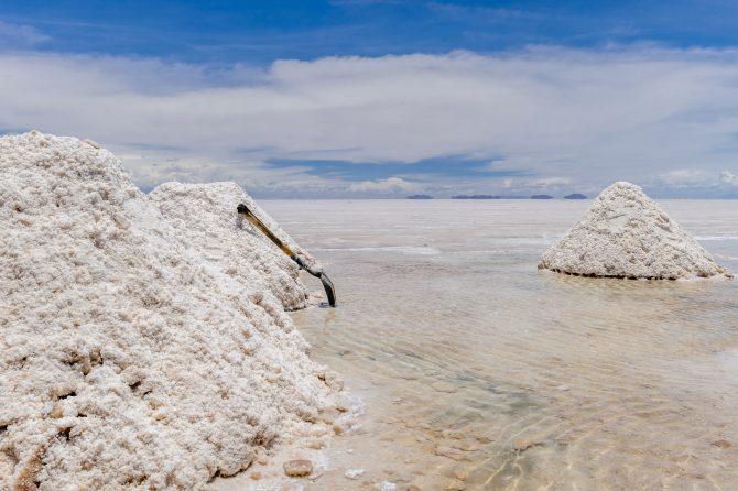 uyuni salt desert in bolivia