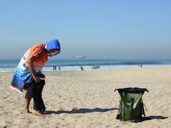 cor surf changing poncho