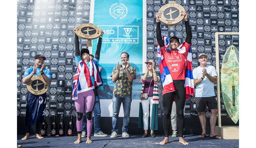 Zeke Lau and Luana Silva win at Portugal